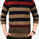 Áo thun nam dài tay chất len mỏng (1)