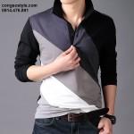 Áo thun nam dài tay GXG (1)