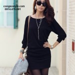 Áo thun nữ dài tay đầy nữ tính mang phong cách Hàn Quốc (3)
