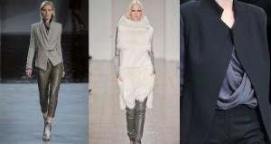 Thời trang công sở nữ màu xám (2)