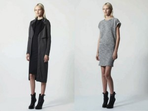 Thời trang công sở nữ màu xám (8)