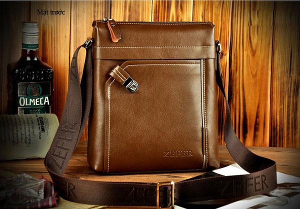 Túi xách nam cao cấp màu nâu