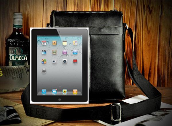 Túi xách nam cao cấp màu đen đựng iPad