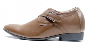 Giày tăng chiều cao Subow màu nâu