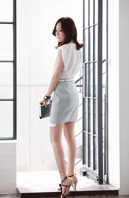 Váy công sở cho nàng cá tính 8