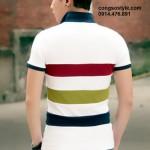 Áo thun nam cộc tay sắc màu giản dị (1)