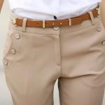 Quần kaki nữ ông thẳng, mỏng (1)