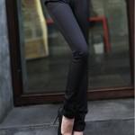 Quần kaki nữ cách điệu 2 đai