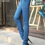 Quần kaki nữ cách điệu 2 đai (2)