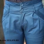 Quần kaki nữ cách điệu 2 đai (3)
