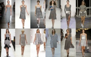 Thời trang công sở nữ màu xám (1)