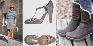 Thời trang công sở nữ màu xám (10)