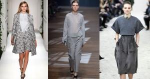 Thời trang công sở nữ màu xám (3)