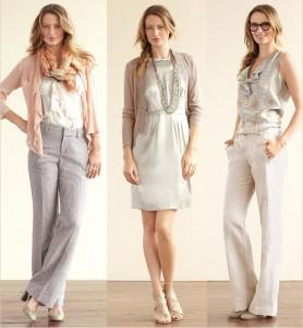 Thời trang công sở nữ màu xám (6)