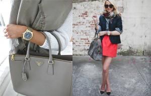 Thời trang công sở nữ màu xám (9)