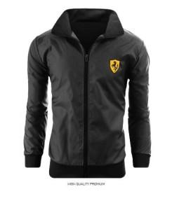 Áo khoác nam in logo Ferrari
