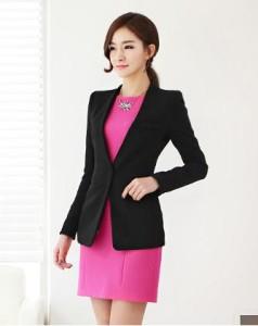Áo vest nư kiểu dáng đơn giản, hiện đại
