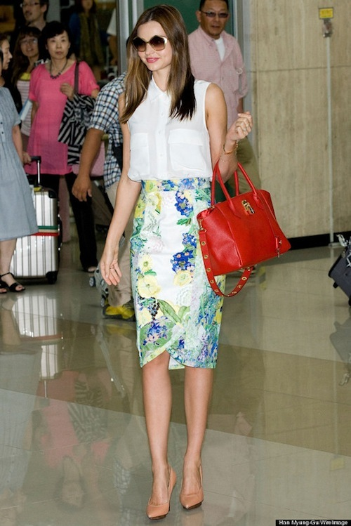 Miranda Kerr Arrives In Seoul