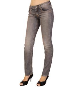 Quần jeans nữ POP màu xanh xám