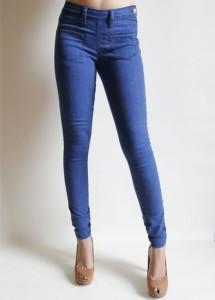 Quần Jeans nữ M35B - Jean SPJ khóa hông xanh