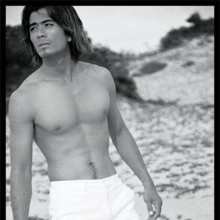 Cựu người mẫu Châu Thế Tâm.