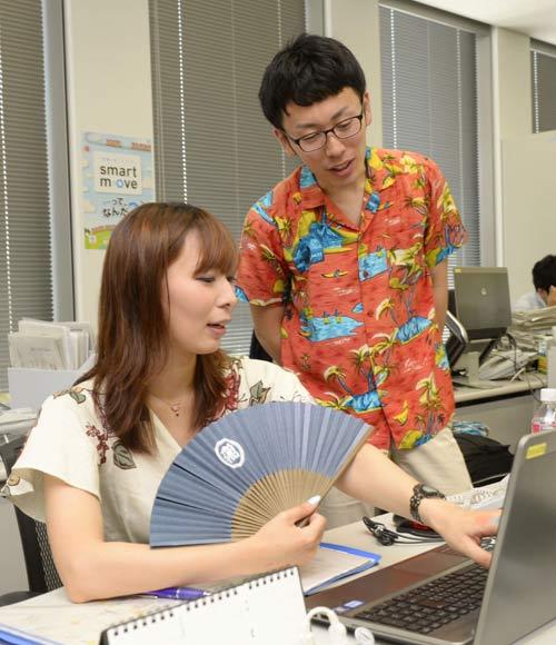 Trang phục công sở Nhật Bản những ngày hè nóng bức