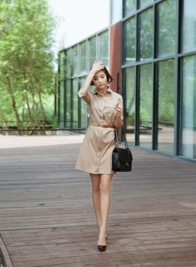 Váy suông giúp che khuyết điểm không mong muốn trên cơ thể như vòng 1, vòng 2